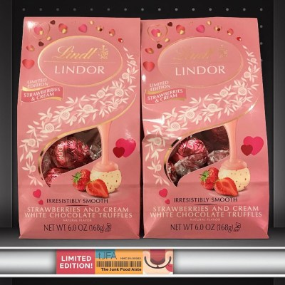 Lindt Lindor Red Velvet Truffles - The Junk Food Aisle