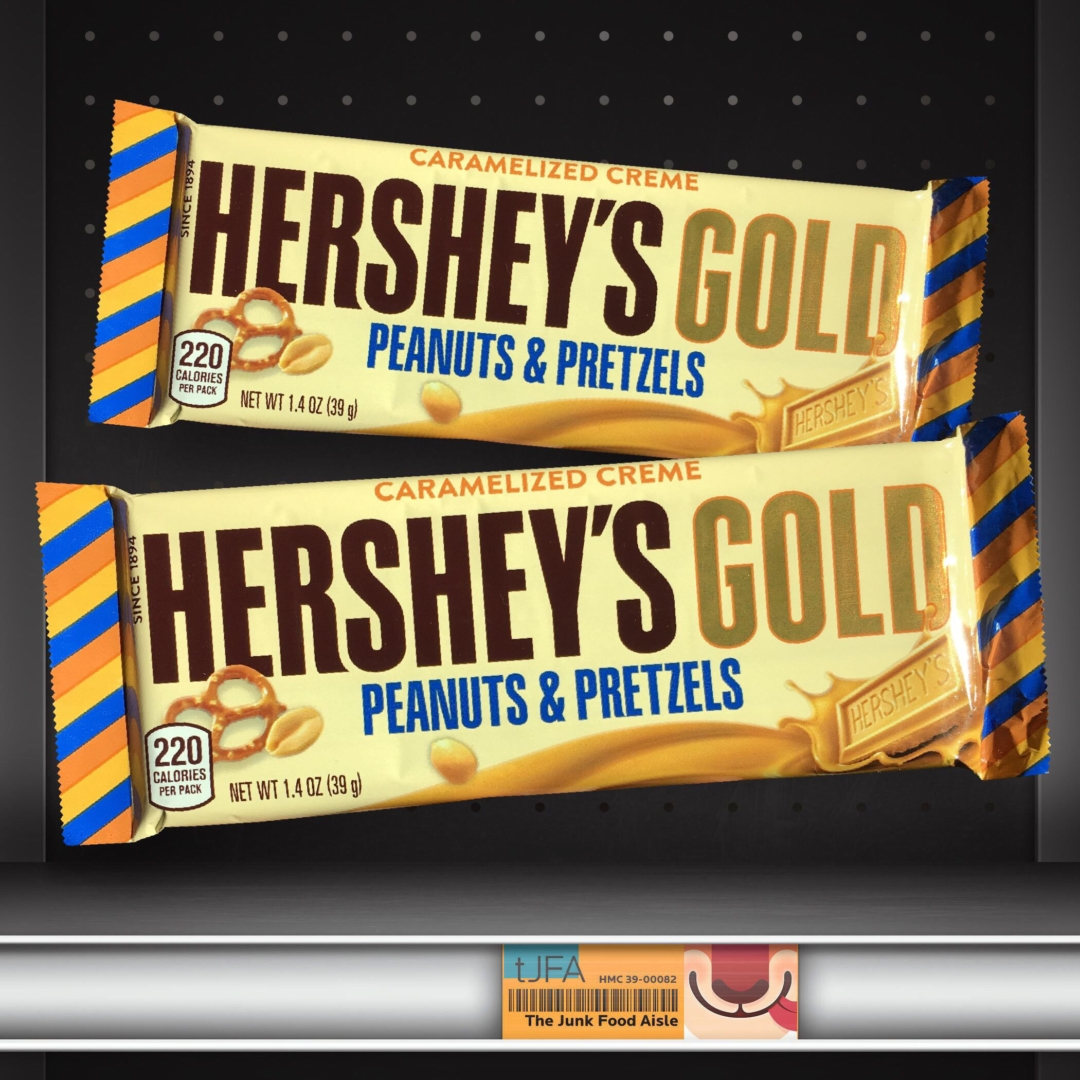 Caramelized Creme Hershey's Gold Peanuts & Pretzels