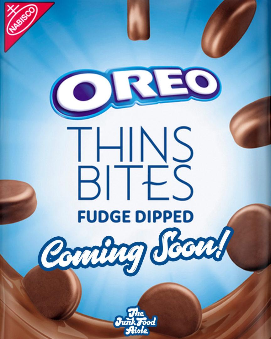 Coming Soon: Oreo Thins Bites Fudge Dipped