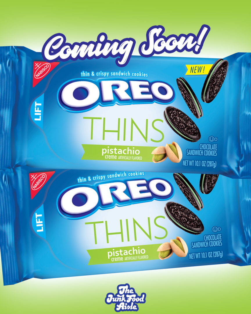 Coming Soon: Pistachio Oreo Thins