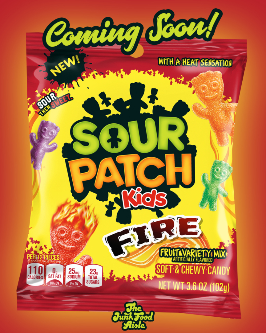 Coming Soon: Sour Patch Kids Fire