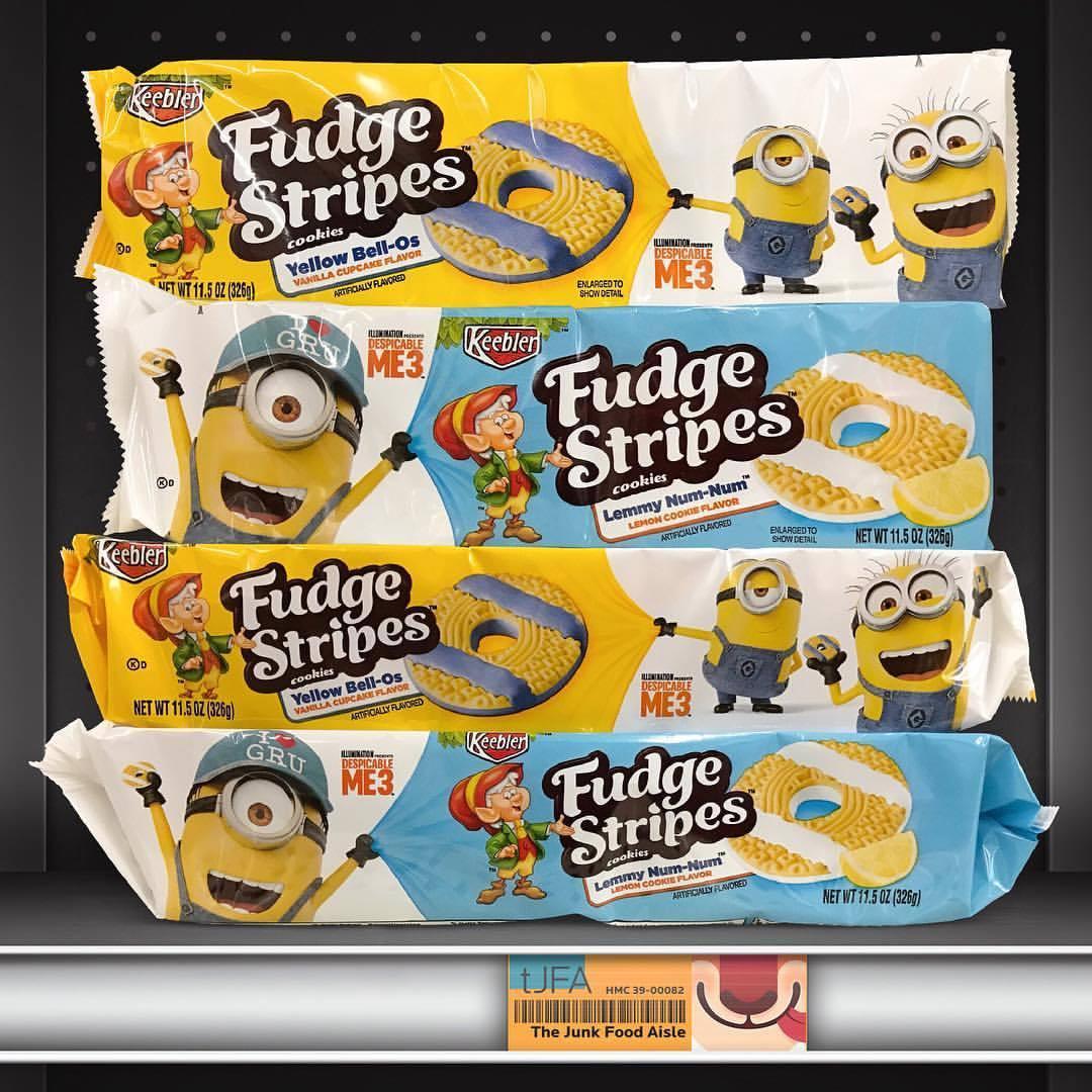 Despicable Me 3 Presents Keebler Fudge Stripes Yellow