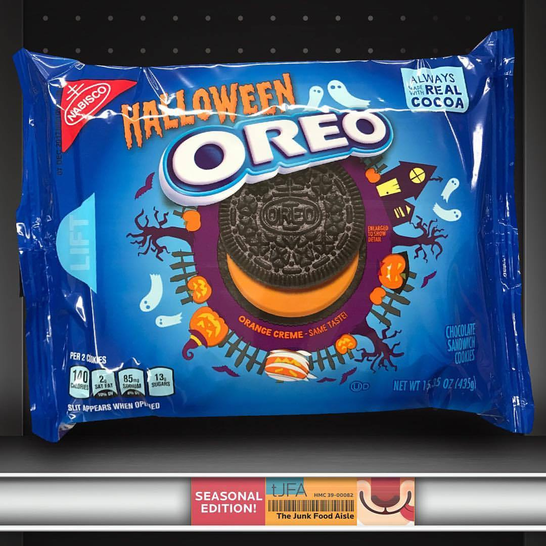 Halloween Oreo - The Junk Food Aisle