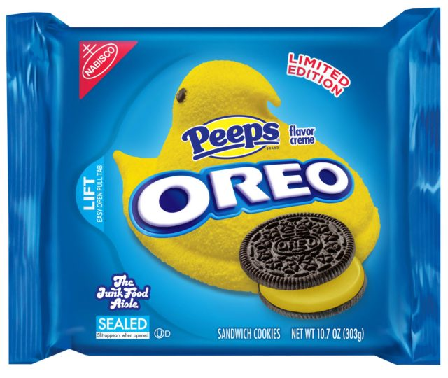Peeps Oreo with Chocolate Cookie