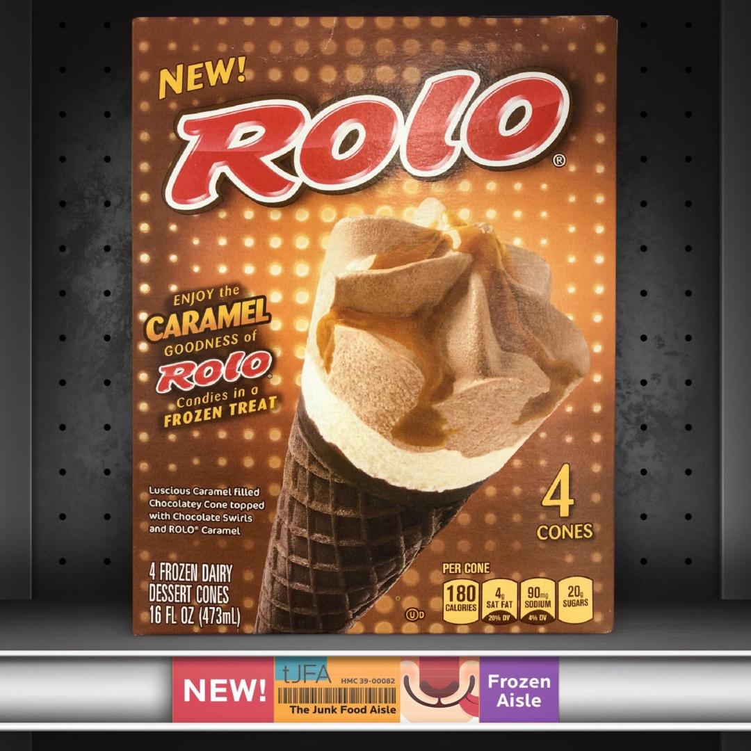 Rolo Frozen Dessert Cones