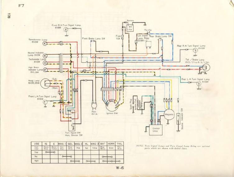2005 Z400 Wiring Diagram 1974 Kawasaki F7 Page 3 Ktog Kawasaki Triple