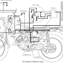 Honda Motorcycle Wiring Diagram Xl100 Plete Ford Fiesta Mk7 Headlight 1974 Xl 100 Schematic Vintage Scooters Servicemanuals The Junk Man