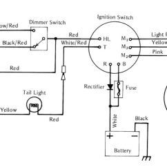 Motorcycle Stator Wiring Diagram House Lights Wire Great Installation Of Servicemanuals The Junk Man S Adventures Rh Thejunkmanadv Com Coil Simplified