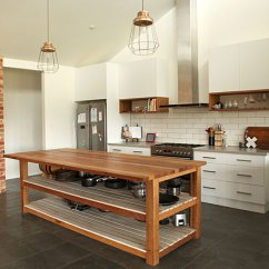 Kitchen Island Bench Foldable Table Building Recycled Timber Kitchens And Heritage Renovations The Mannagum Melbourne