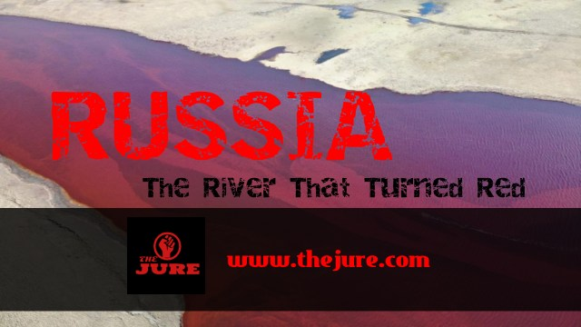 Russia: The river that turned red