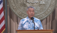 Governor David Ige gives update on COVID-19 Vaccination plans