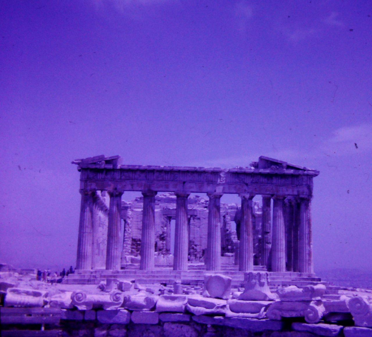 Athen Akropolis, aus Familienbesitz, kasaan media, 2019