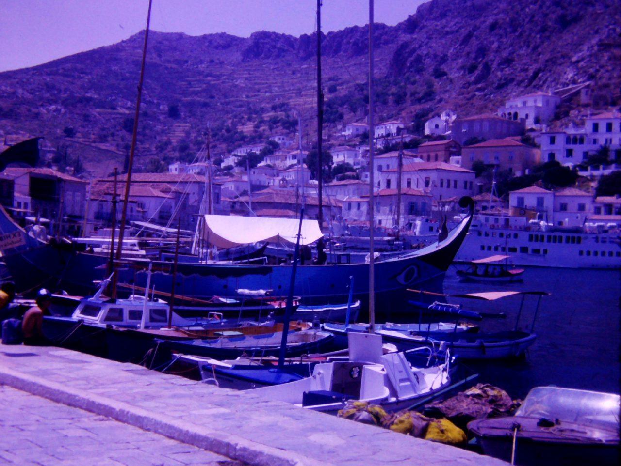 Hafen auf Kreta, aus Familienbesitz, kasaan media, 2019