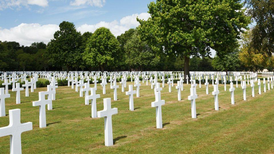 Triage Gräber 1 Weltkrieg, Beispielfoto