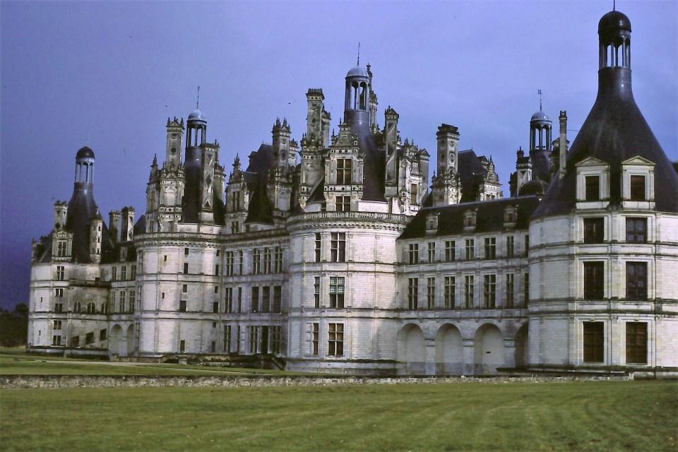 Château de Chambord, kasaan media, 2021