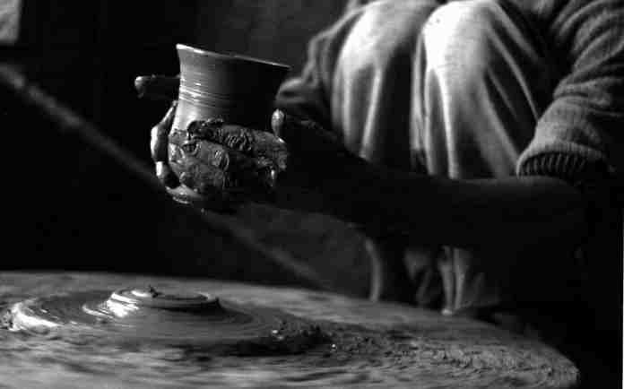 Kashmir pottery - mud art - Kashmir 4