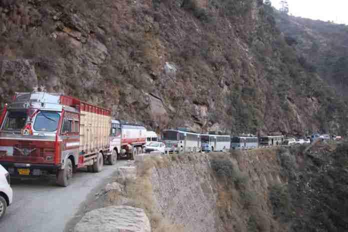 national highway, kashmir, jammu and kashmir, jammu srinagar,