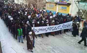 Breaking News Kashmir, Ladhak division, kargil protest,