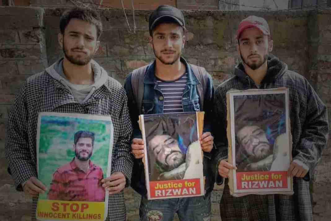 Rizwan Assad Pandit, Kashmir killings, Kashmir