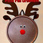 Christmas Pizza Pan Door Hangs The Keeper Of The Cheerios
