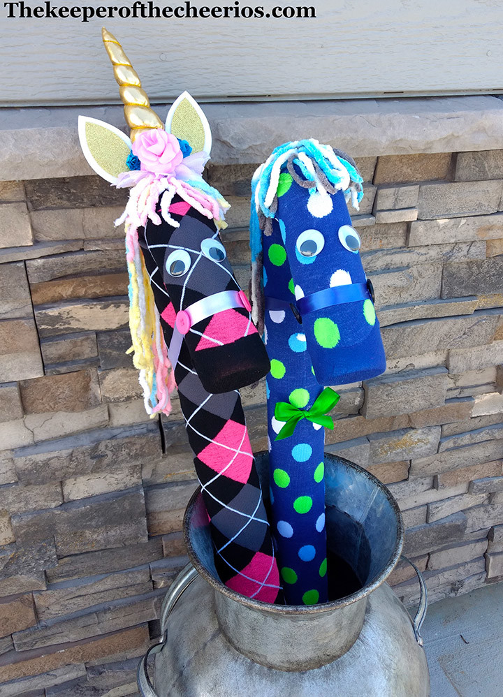 Pool Noodle Stick Horse  Pool Noodle Unicorns