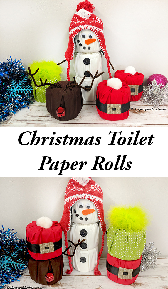 Christmas Toilet Roll Crafts