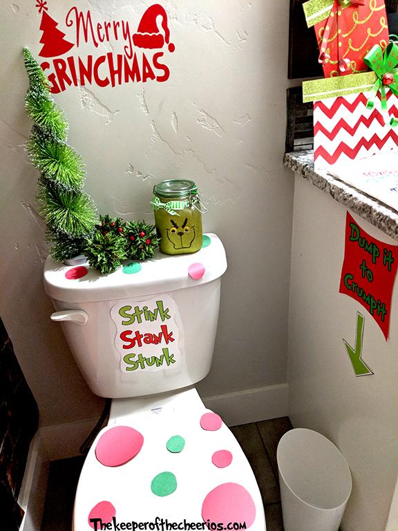 Grinch Bathroom Ideas  The Keeper of the Cheerios