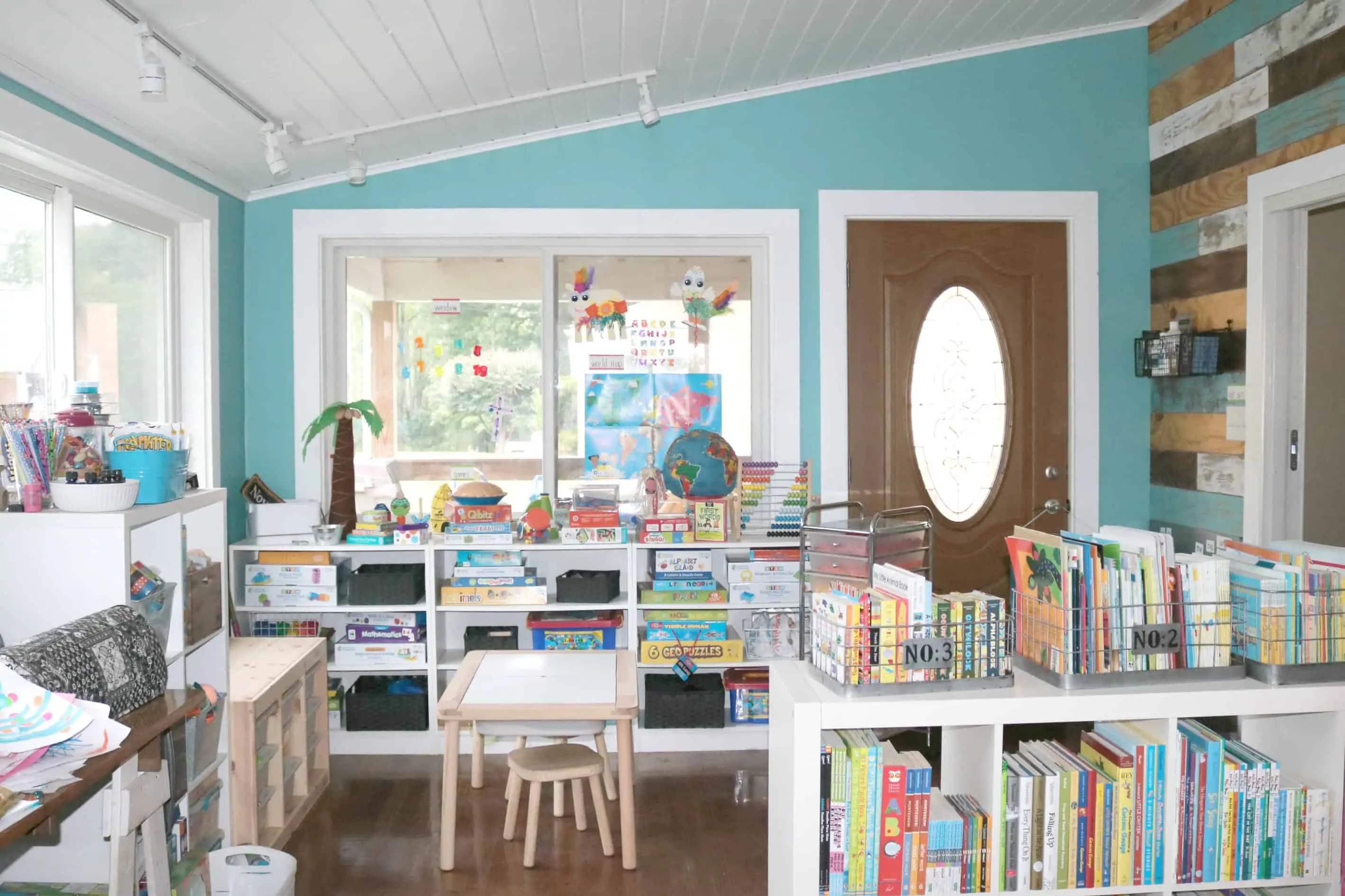 Our Awesome Preschool Homeschool Space For The