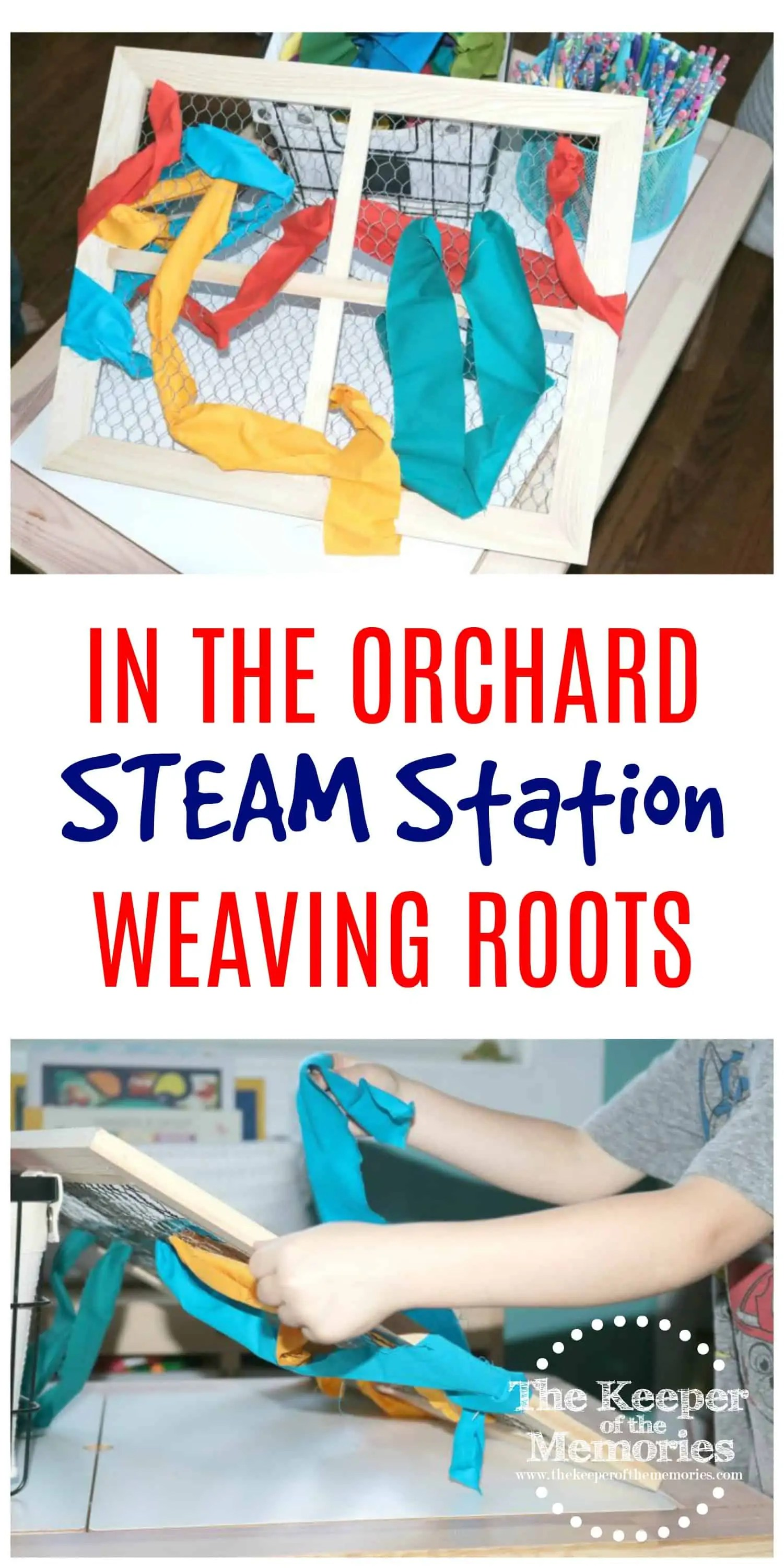 Preschool Weaving Roots 2