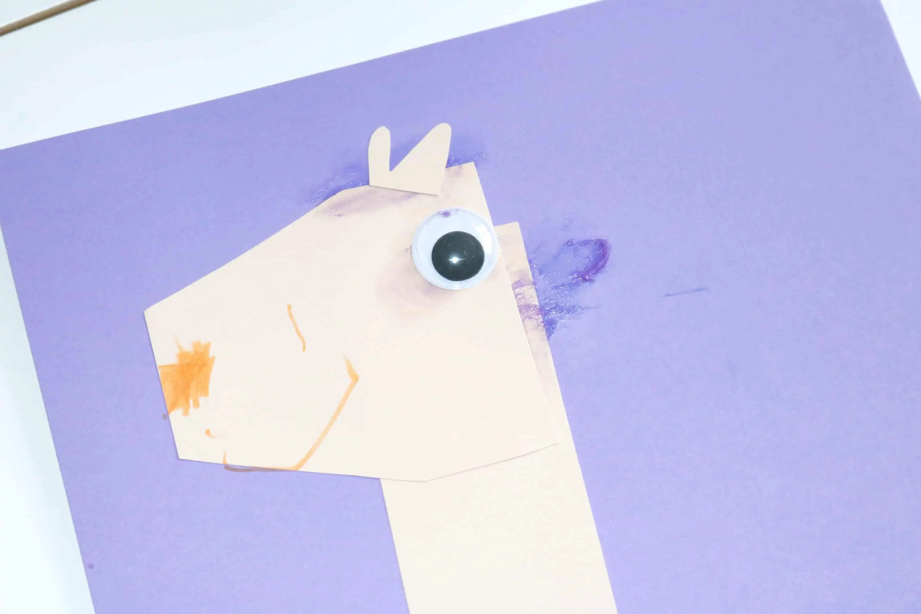L Is For Llama Zoo Craft 5