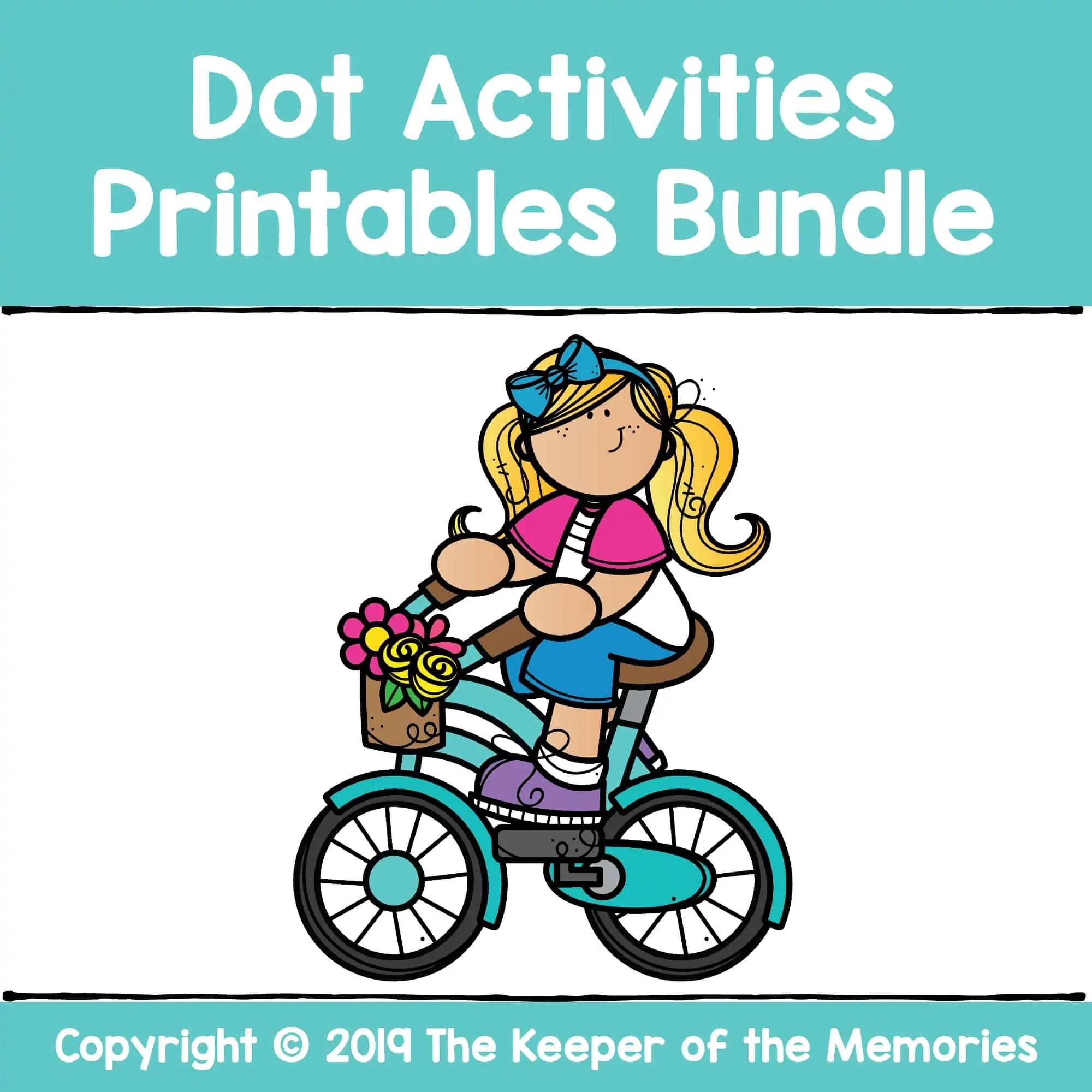 Dot Activties Printables Bundle