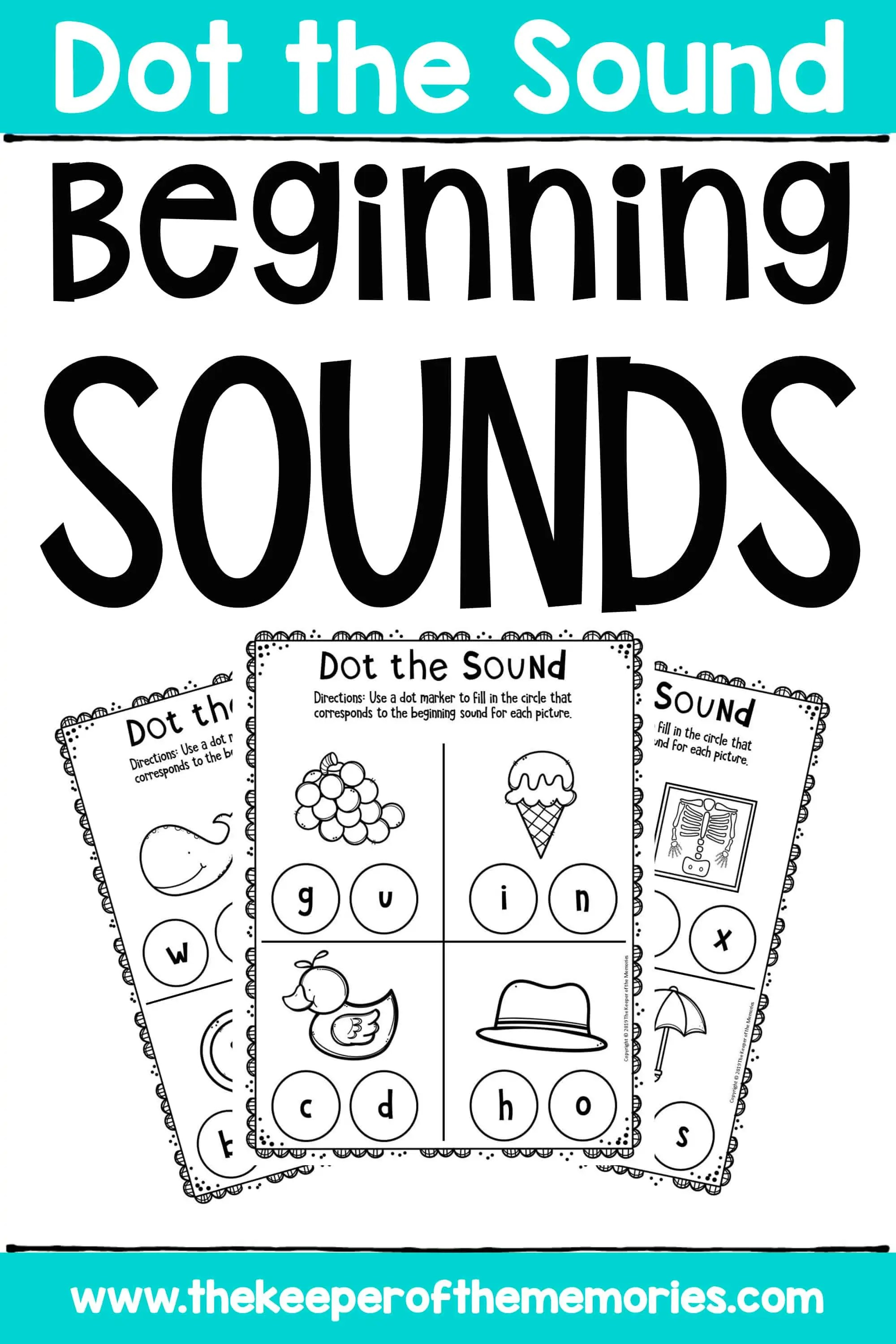 Beginning Sounds Worksheets For Preschoolers Amp Kindergartners