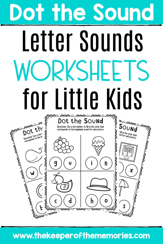 Preschool Worksheets Letter Sounds Worksheets For Little