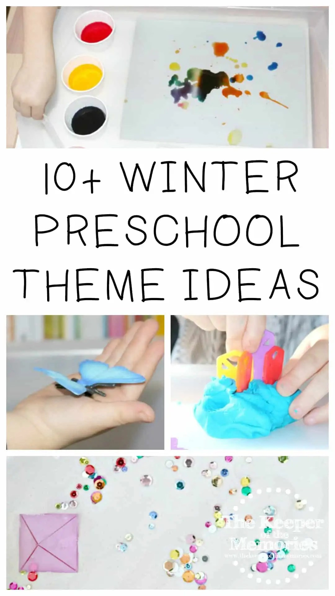 10 Winter Preschool Monthly Themes