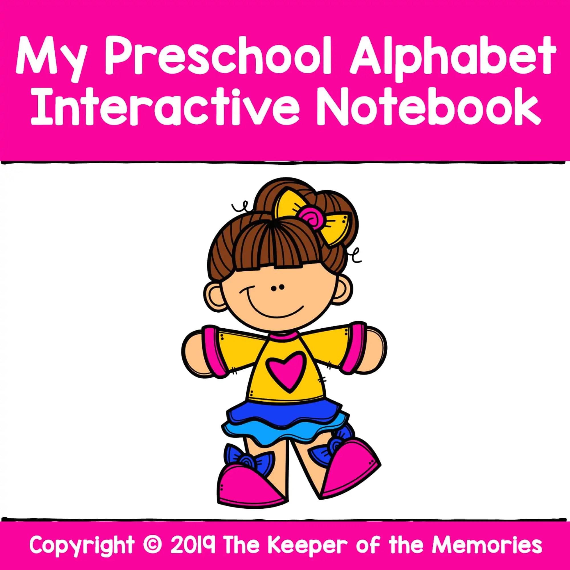 My Preschool Alphabet Interactive Notebook Alphabet