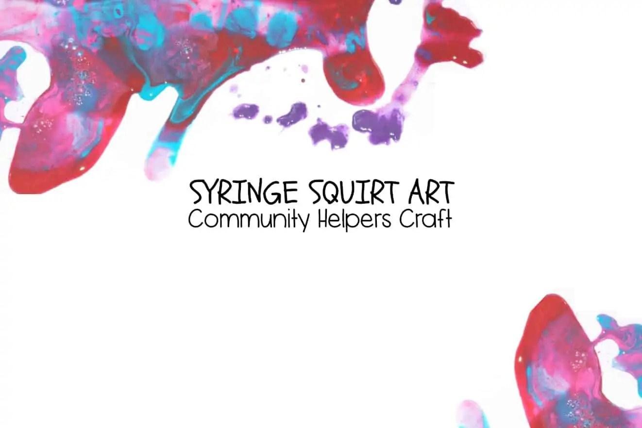 Syringe Art Community Helpers Craft