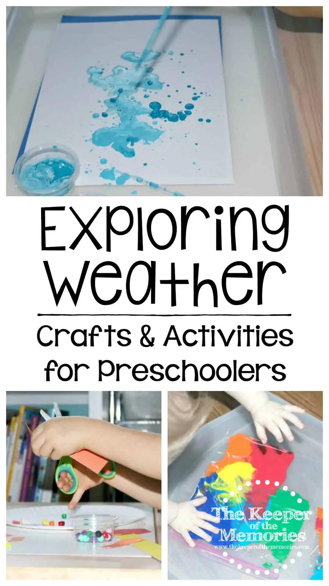 Exploring Weather With Preschoolers