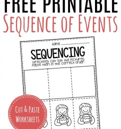 Free Printable Sequence of Events Worksheets [ 1500 x 1000 Pixel ]