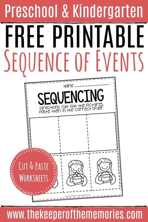 small resolution of Free Printable Sequence of Events Worksheets