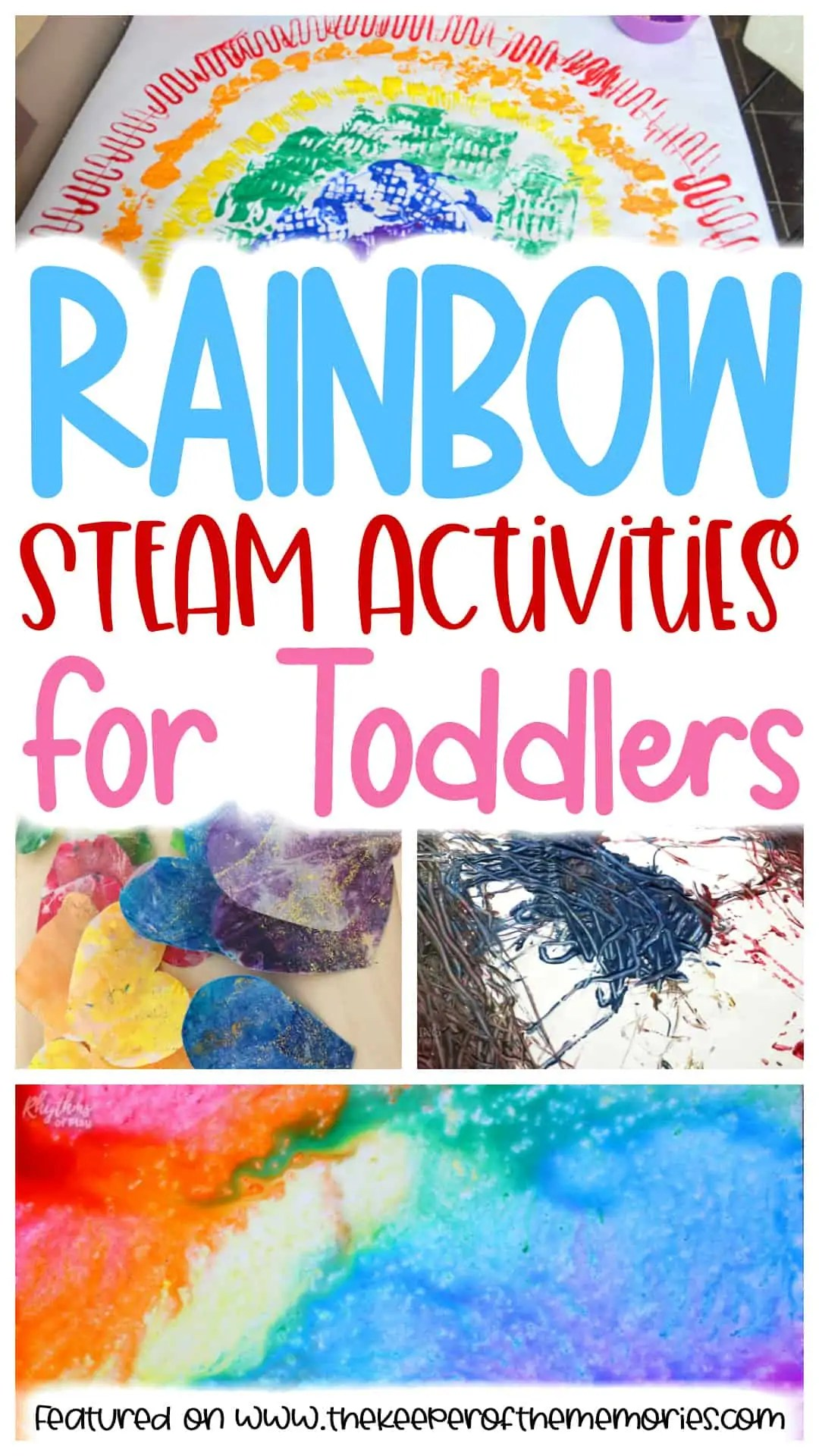 30 Rainbow Toddler Activities