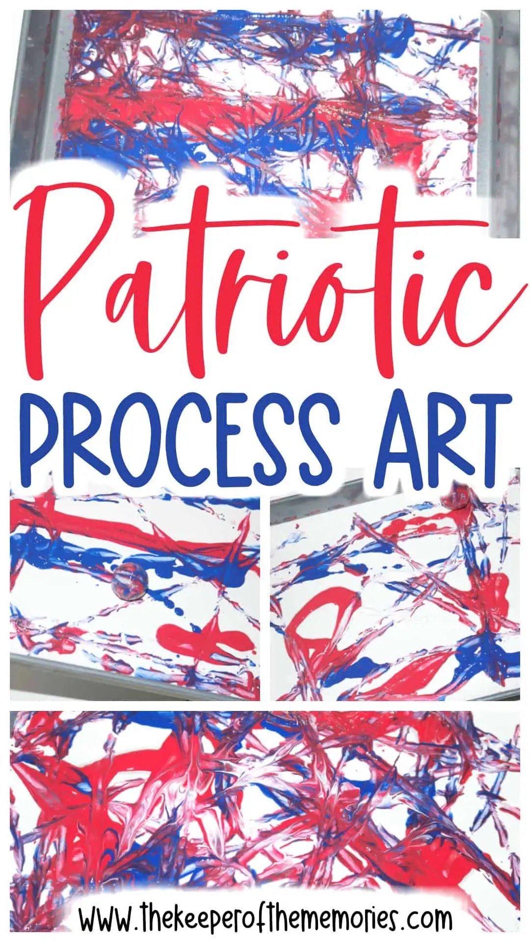 Patriotic Process Art