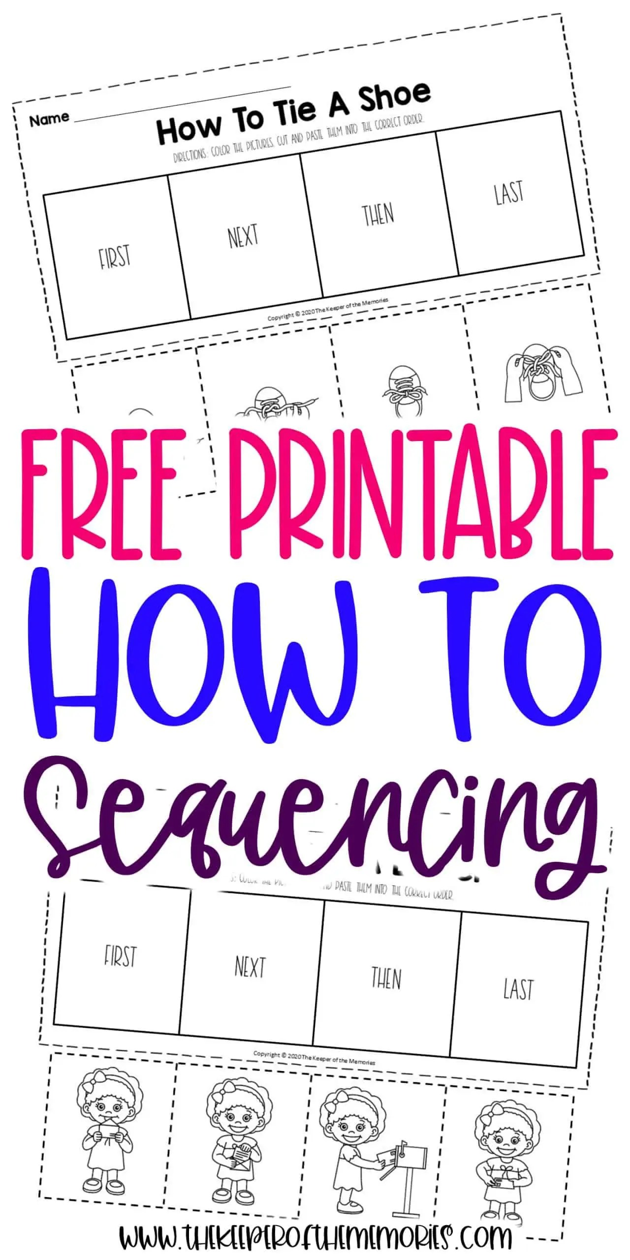 How To Sequence Of Events Activities For Preschoolers