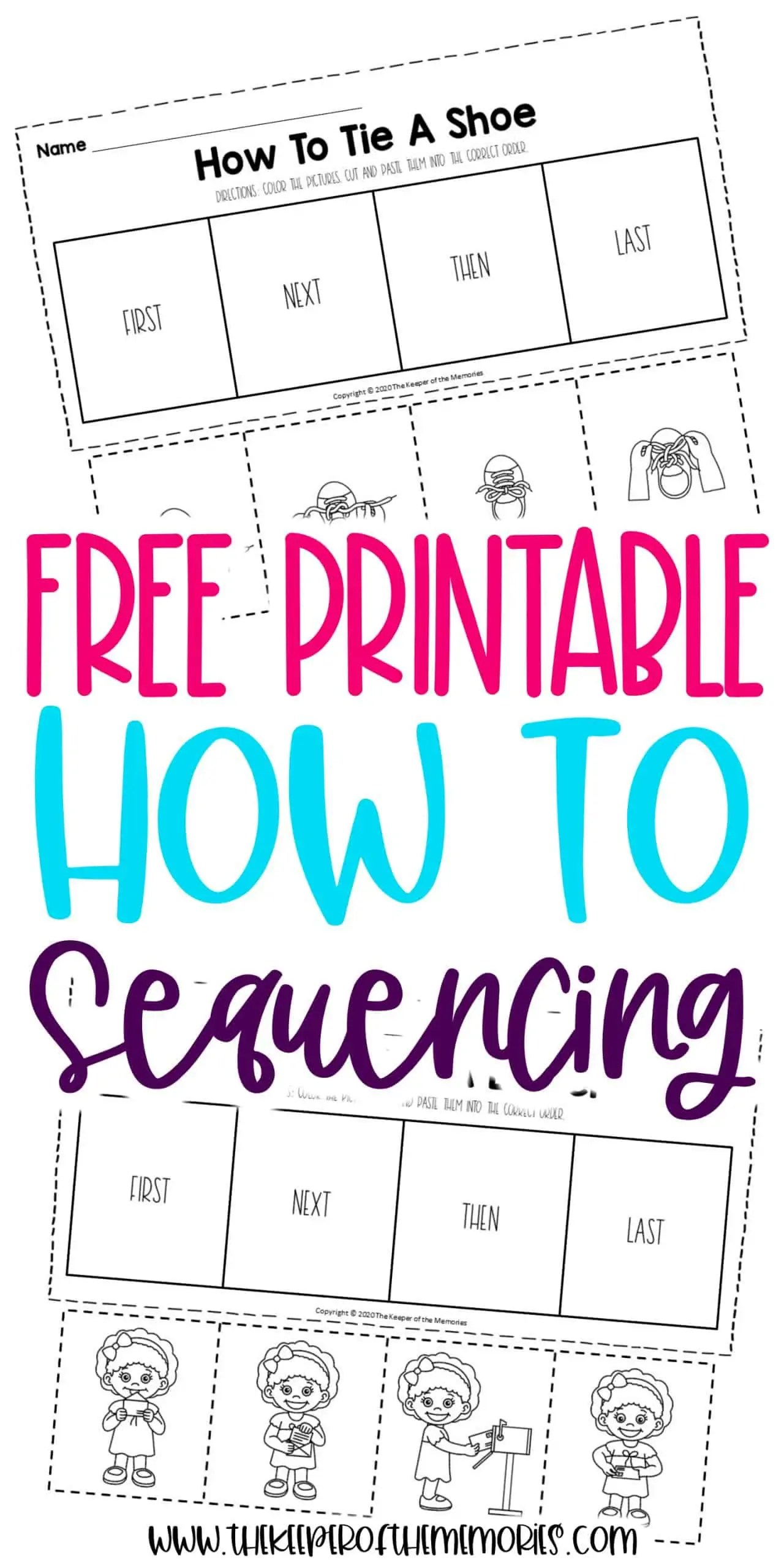 How To Sequencing Worksheets