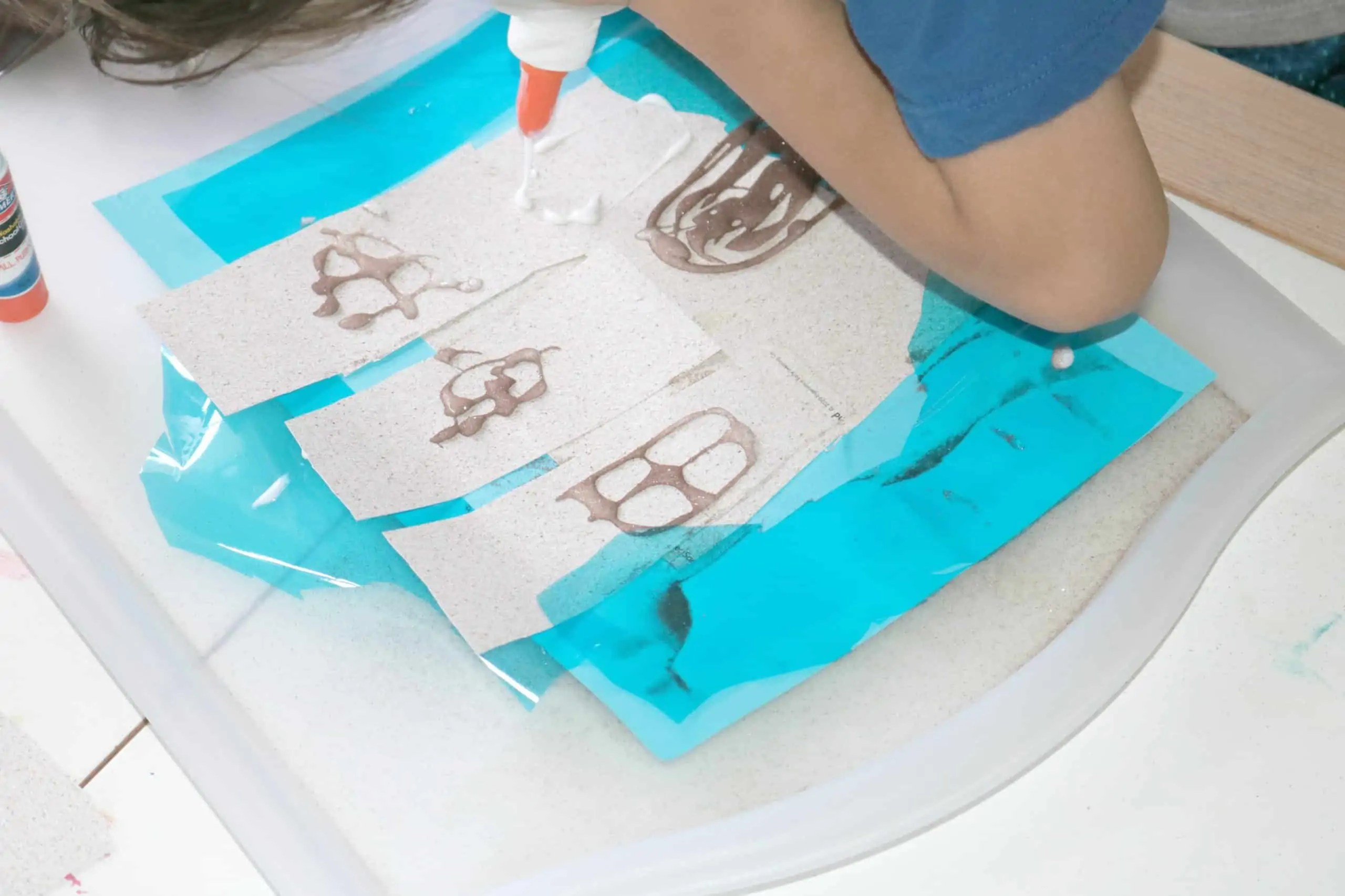Sandcastle Preschool Craft 7
