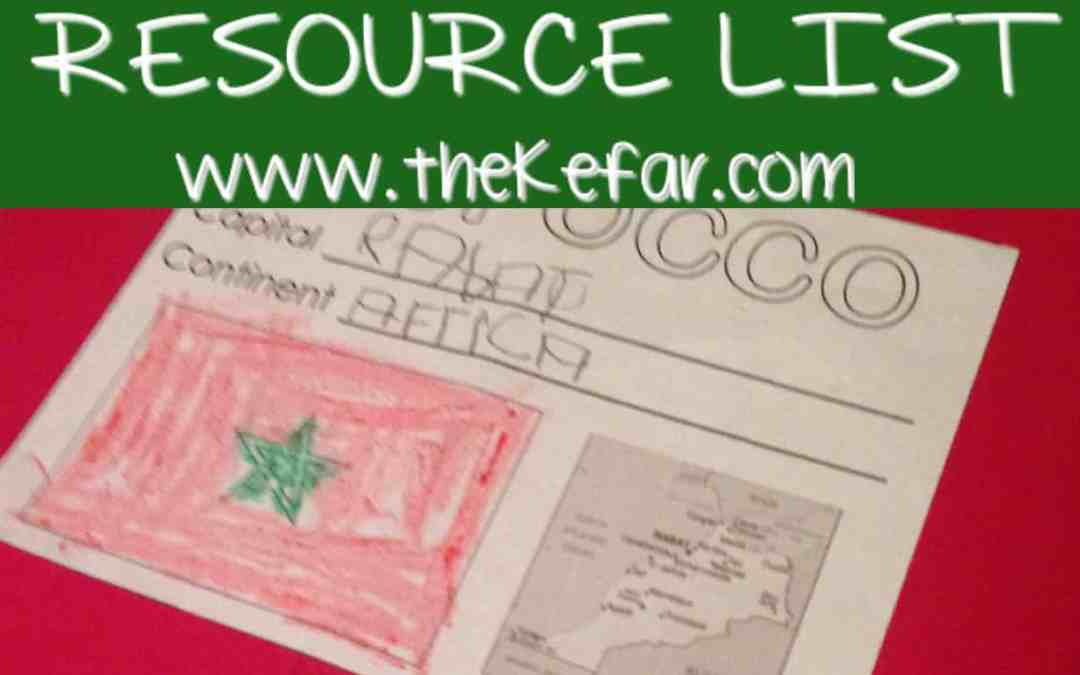 Morocco Country Study Resource List