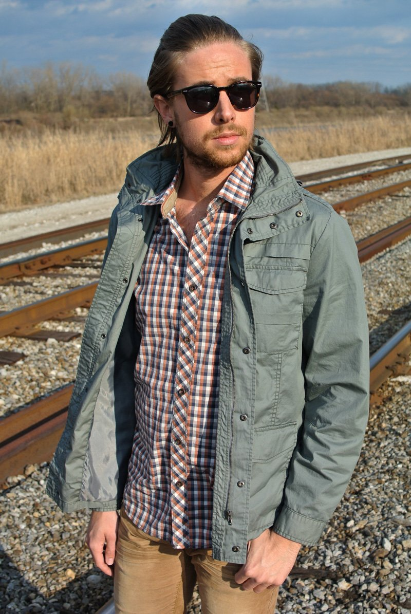 The Kentucky Gent in Jeremiah Clothing Spring/Summer 2014 Collection.