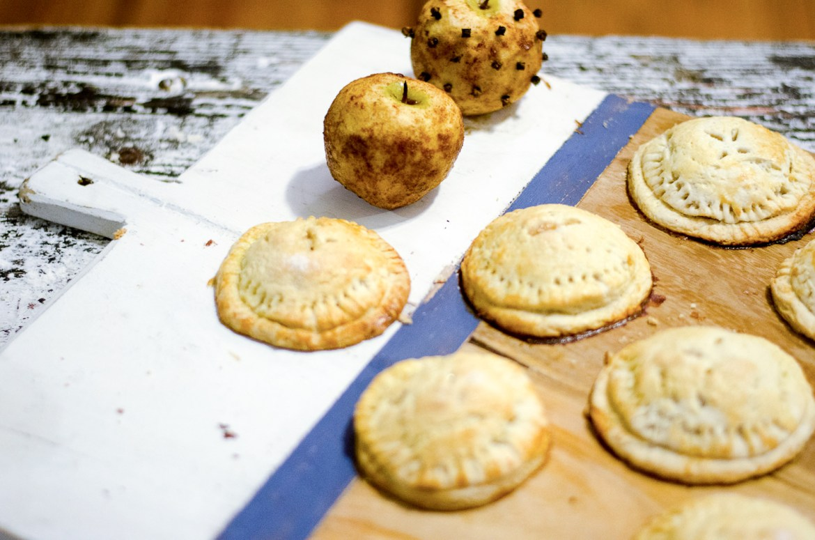 The Kentucky Gent, a Louisville, Kentucky life and style blogger, shares his recipe for Salted Caramel Apple Hand Pies.