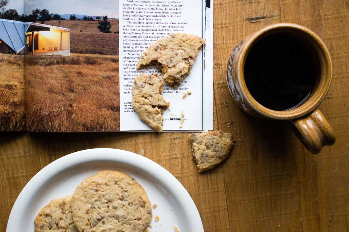 The Kentucky Gent, a men's fashion and lifestyle blogger, shares his recipe for Brown Sugar Toffee Cookies.