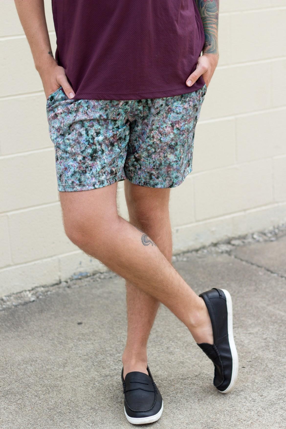 Topman Neoprene Shorts on The Kentucky Gent