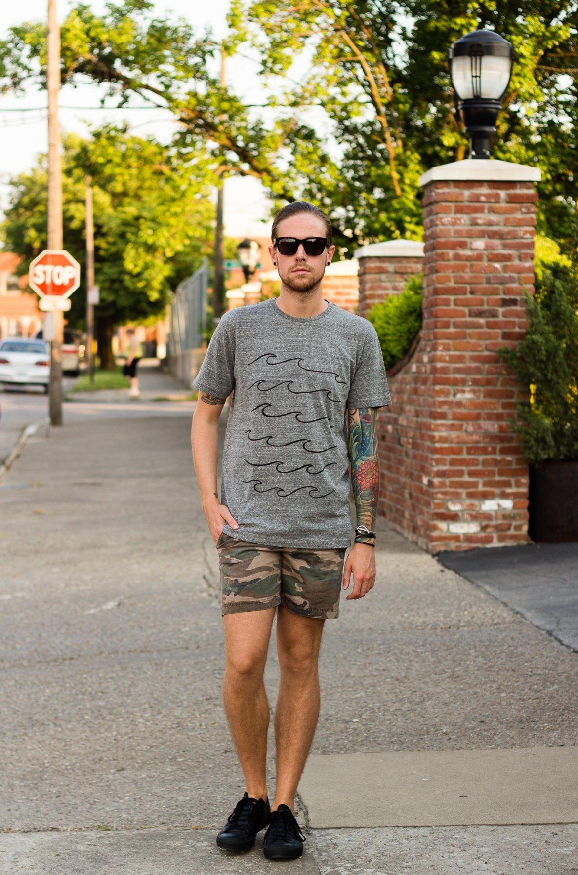 mollusk, grey tee, grey t-shirt, mens blogger, how to wear a grey t-shirt